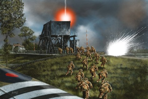image from 'Pegasus Bridge' by Will Fowler © Osprey Publishing, part of Bloomsbury Publishing