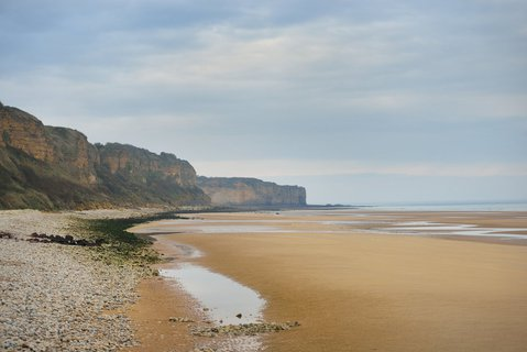 PICTURE: Omaha Beach (image: Shutterstock)