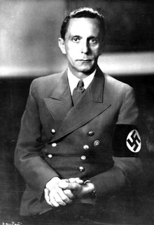 Propaganda Minister Joseph Goebbels, drunk at the Berghof at this point (image: German Federal Archives Bild 183-1989-0821-502 / CC-BY-SA 3.0)